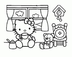 Free, printable hello kitty coloring pages, party invitations, printables and paper crafts for hello kitty fans the world over! Hello Kitty Free Printable Coloring Pages For Kids
