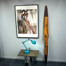 airplane propeller decor wood wall wooden decoration