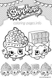 Shopkins Coloring Pages Many Interesting Cliparts