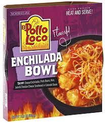 el pollo loco enchilada bowl
