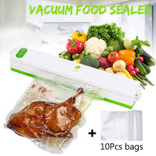 220V <b>Household Food</b> Vacuum Sealer Packaging <b>Machine</b> Film ...