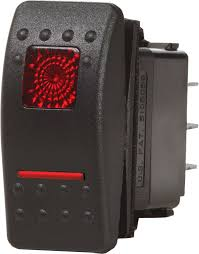contura ii switch spdt black on off on blue sea systems product image · switches contura switches