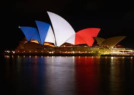 french house lighting. The Sails Of Sydney Opera House Are Illuminated In Colours French Flag Lighting O
