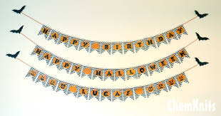 make your own birthday banner chemknits pumpkin chevron birthday banner free printable