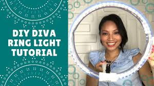 Diy Ring Light Tutorial How To Make Your Own Ring Light