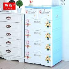 plastic closet drawers thickening baby drawer storage cabinets lockers chest of clothing clothes plans