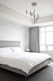 modern silver gray bedroom with silver