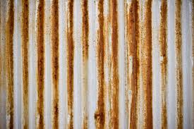 rusted corrugated iron rusty rusted surface texture hq photo