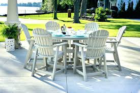 round table patio sets rete patio tables for counter height furniture with small round table