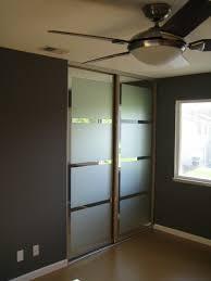 closet door diy mirred closet