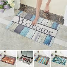 5 modes absorbent floor door bath mat cotton non slip rubber backing rugs uk