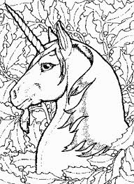 Small Picture Printable Fairy Unicorn Coloring Page For Adults Fantasy