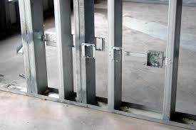 metal studs wall. light gauge metal stud frame \ studs wall