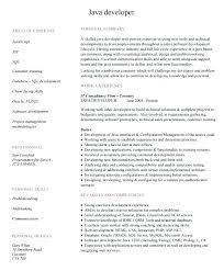 Java Developer Resumes Gorgeous Sample Cover Letter For Java Developer Netdevilzco