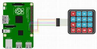 4x4 matrix keypad with a raspberry pi and c hackster io control4 keypad wiring diagram pi keypad wiring