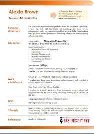 Resume Business Administration 10 Sample 3 Pictures Admin