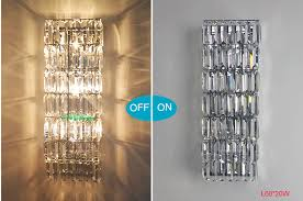 long wall sconce lighting. Aliexpress.com : Buy Living Room Wall Lights For Home Led Sconce Modern Crystal Lamps Hallway Long Lamp Bedroom Lighting From R