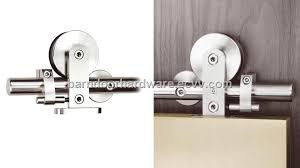 modern barn door hardware for sliding wood door
