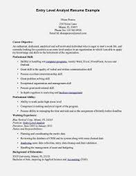 Entry Level Accounting Job Resume Gallery of Entry Level Accounting Resume Examples 100