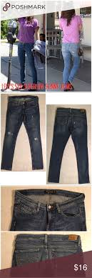 Levis 524 Too Superlow Destroyed Skinny Jeans Levis Red