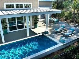 Backyard Designs With Pool Adorable Swimming Pool Ideas For Backyard Faanyagok