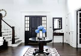 round entrance table door entrance table entry traditional with raised panel door dark wood floor dark wood floor entrance hall table small