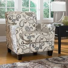 Ashley Furniture Yvette Steel Accent Chair w Loose Seat Cushion