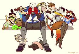 Group Of Soldier 76 Overwatch Theme