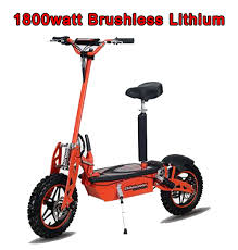 Super Turbo 1800 watt <b>48v Brushless</b> Lithium Electric Scooter ...