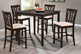 real wood dining table sets kitchen tall dining table sets high chair counter height chairs bar