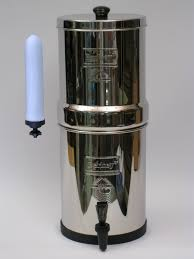 How To Filter Water Without A Filter Big Berkey Gravity Water Filter With 9 Inch British Berkefeld