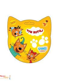 "Купить <b>1TOY</b> Т16263 <b>Слайм</b>-слизь с <b>сюрпризом</b> ""<b>Три</b> кота"" в ..."