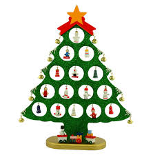 Smothery Miniature Ornaments Wooden Table Tree Miniature Ornaments Wooden  Table Tree in Wooden Christmas Tree