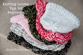 Loom Knitting Hat Patterns Beauteous Knitting Loom Hats Tips For Beginners Bits Of Everything