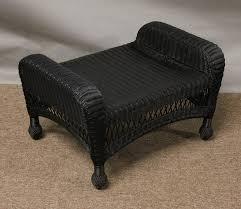 Amazoncom  Threshold Belvedere Wicker Patio Club Chair  Garden Black Outdoor Wicker Furniture
