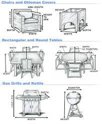 furniture covers for chairs. how to measure covers furniture for chairs