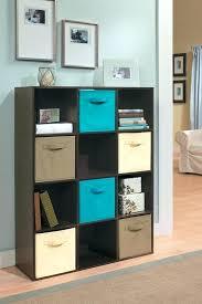 drawer cube organizer in espresso with fabric drawers ocean blue mocha narrow closetmaid kit 4 basket