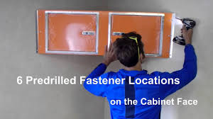 Cabinets For Cargo Trailers Nss Upper Cabinet Installationv Nose Youtube
