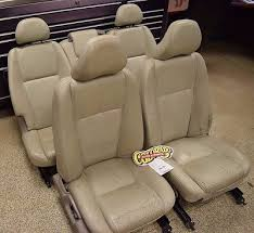 2003 volvo xc90 interior. 2003 20032004 2004 volvo xc1990 white leather front and rear seats kit set of 5 oem volvo xc90 interior