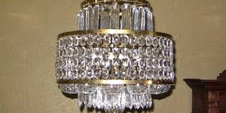waterford crystal chandelier mid century layered antiques adare 6 arm