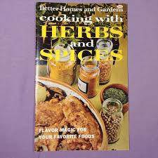 better homes gardens cooking w herbs spices vintage