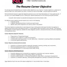Stunning Career Objective For It Fresher Resume Contemporary Entry
