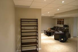 Basement Ceiling Height Basement Ceiling Options And Room - Finished basement ceiling