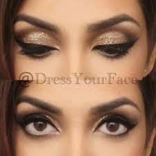 eye makeup for black dress photo 1