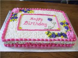 Simple Cake Decorating For A Birthday Cake Of Your Loved Ones