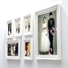picture frame sets for wall wall hanging wood photo frame set white vintage combined picture picture frame sets for wall