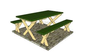How To Build A Picnic Table And Benches  This Old House  YouTubeHow To Make Picnic Bench