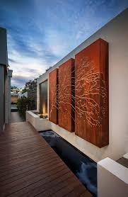 corten steel outdoor wall art image stunning corten outside laser cut lightbox  on laser cut metal wall art australia with corten cladding corten steel corten laser cut screens