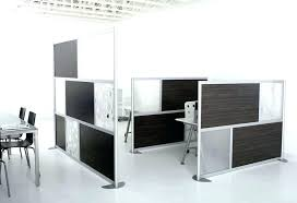 office desk divider screens dividers gorgeous clamps sound proof free standing with hutch uk