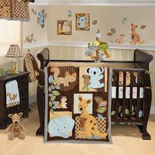 Kids Room, Kids Bedroom Baby Boy Room With Forest Animals Themes Decorating  Baby Nursery With